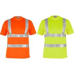 T-shirt bicolore alta visibilità