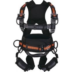 Imbracatura confort con cintura  regolabile 3 punti di ancoraggio