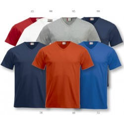 T-shirt fashion-t V-nek