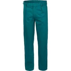 Pantalone 100% cotone massaua blu o verde
