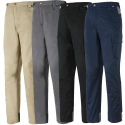 Pantalone 100% cotone massaua blu