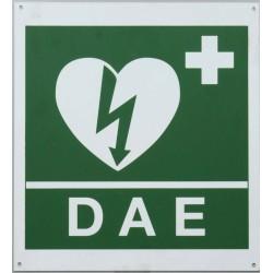 Cartello per defibrillatore