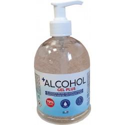 Gel mani disinfettante senza acqua da 500 ml con erogatore
